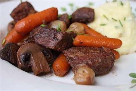 beef bourguignon dinner cooker recipes