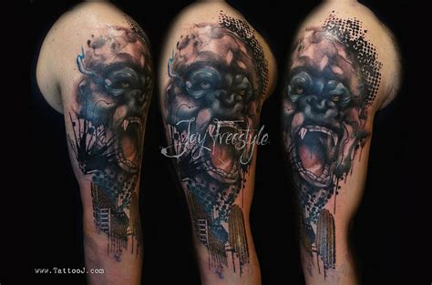 tattoo artist jay artist creates stunning freehand tattoos on the spot