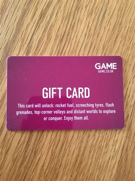 Gift Card Games - game gift card in wallingford oxfordshire gumtree