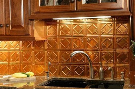 backsplash panels kitchen backsplash ideas on kitchen backsplash copper