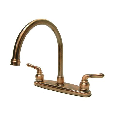 antique kitchen faucet shop elements of design magellan antique copper 2 handle