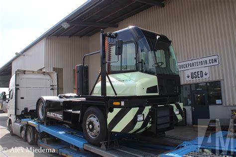 video volvo penta powered electric kalmar terminal tractor starred  toc europe