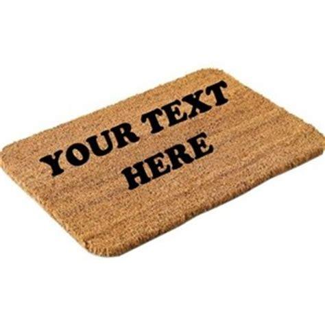 personalised doormat uk personalised door mat medium co uk kitchen home