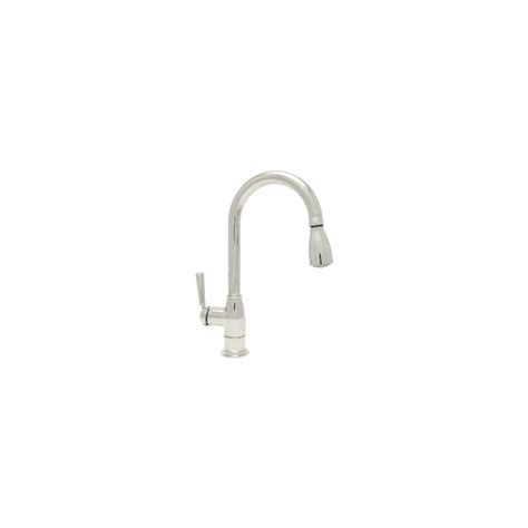 Mirabelle Kitchen Faucets Mirabelle Mirxha100ss Stainless Steel Hartfield Pullout Spray Kitchen Faucet With High Arch