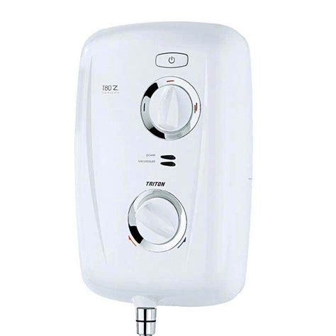 triton t80z 9 5kw thermostatic electric shower white