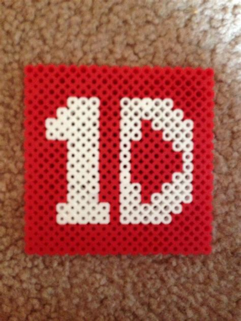 one direction perler one direction coaster perler perler