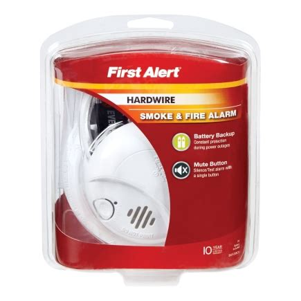 Gembok Alarm Ace Hardware alert wired with battery back up ionization smoke alarm sa9120bcn smoke detectors