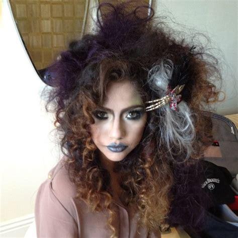 halloween hairstyles videos halloween hair and make up on pinterest halloween hair