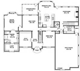 5 Bedroom 4 Bathroom House Plans by House Plans And Design House Plans Two Story 5 Bedroom