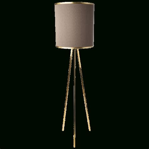 gold tripod floor lamp with large shade images 69 cool