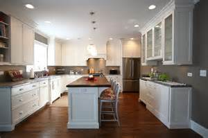 Fourkitchens American Four Square Style Home Renovation Traditional