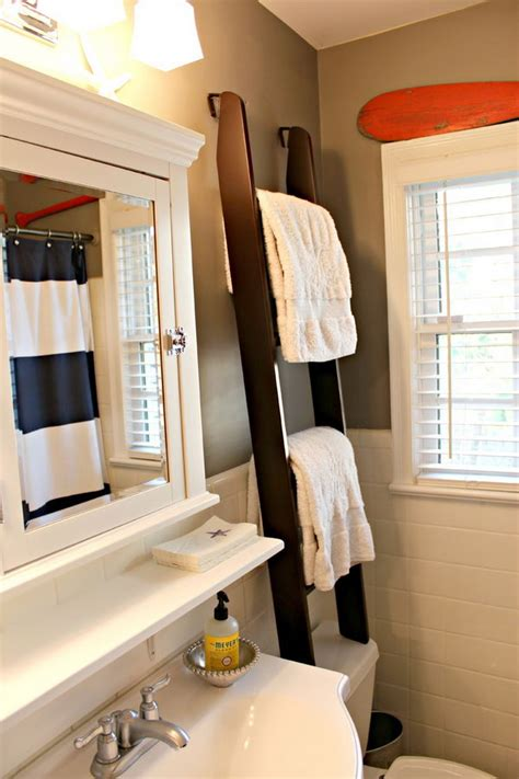 Towel Rack Ideas For Small Bathrooms over the toilet storage ideas for extra space hative