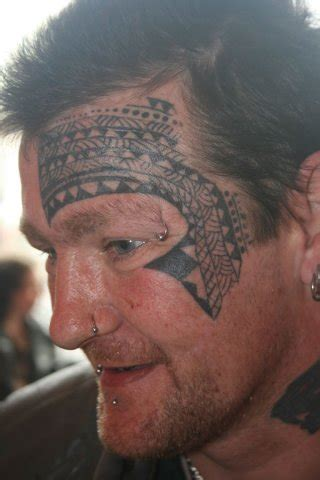 face maori tattoo by wrexham ink
