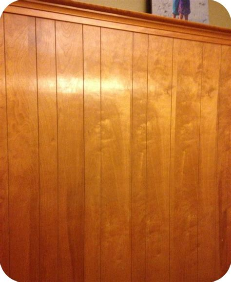 wood panel painting paint over wood paneling