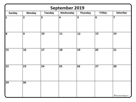 september 2019 calendar september 2019 calendar 51 calendar templates of 2019
