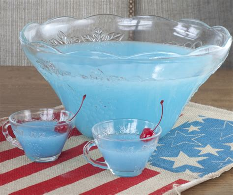 Blue Baby Shower Punch Recipes by Blue Pi 241 A Colada Punch Wishes And Dishes