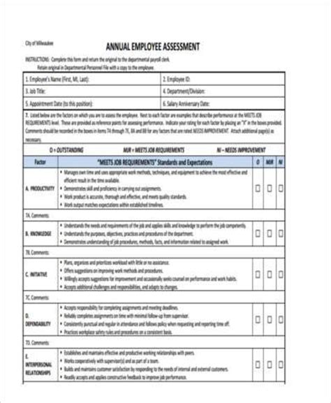 Annual Assessment Report Template 43 Assessment Templates In Word Free U0026 Premium