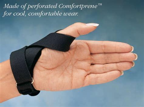 comfort cool thumb spica burnham thumb splint thumb splints