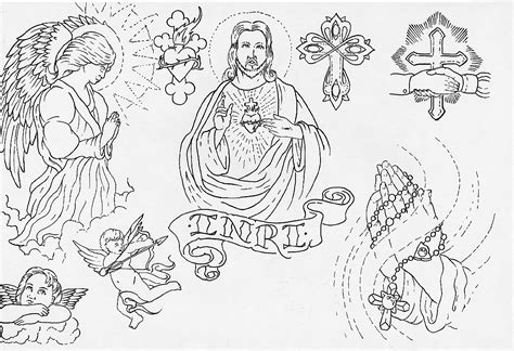 tattoo flash art for men outlines