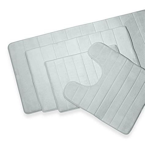 Memory Foam Contour Bath Rug Microdry 174 Ultimate Luxury Memory Foam Contour Mat Bed Bath Beyond