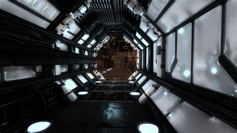 Sci Lighting by Sci Fi Modular Interior Pack Now With Pbr Materials