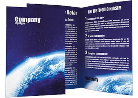 alien blue planet brochure template design id 0000001383