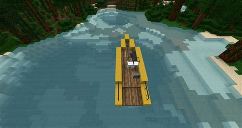 how to make a speed boat in minecraft pe modern speed boat zeppelin mod compatible minecraft project