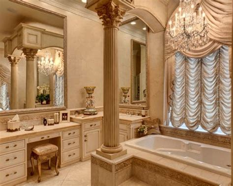 elegant bath bathroom columns design ideas remodel pictures houzz