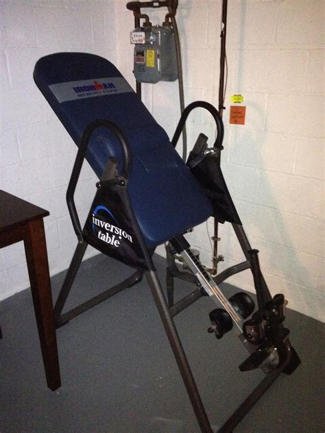 back revolution inversion table pic s and discussion of your quot home quot page 138