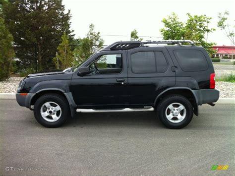 nissan xterra black super black 2004 nissan xterra xe 4x4 exterior photo