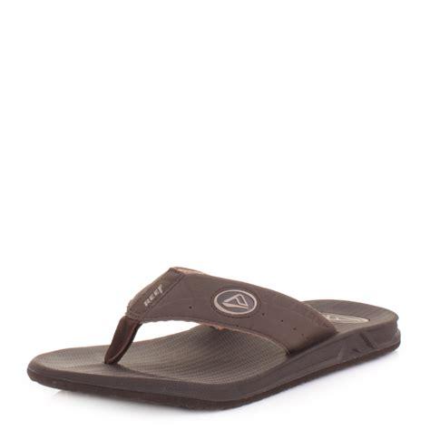 sandals and flip flops mens reef phantoms brown surf flip flops sandals