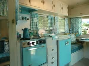 rv kitchen appliances streamline trailer with pink appliances cer trailer interiors pinterest trailers