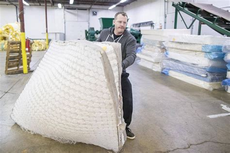 Mattress Recycling Calgary by No Rest For Calgary Mattress Recycling Entrepreneur The
