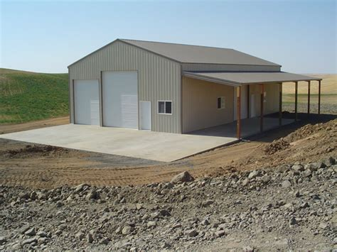 How To Build A Garage Workshop by Pole Buildings Mike S Pole Barns Clarkston Wa