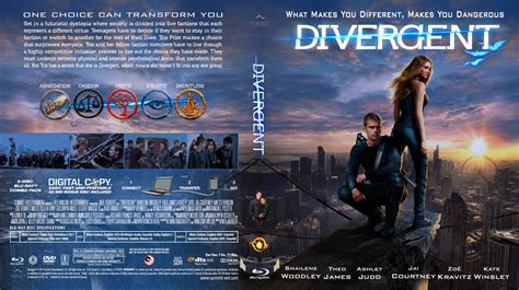 Dvd Divergent divergent custom covers divergent bd dvd covers