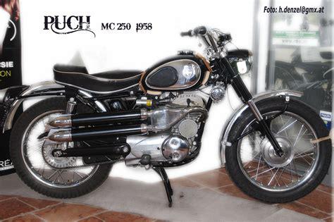 Oldtimer Motorrad Sterreich by Puch Mc 250 1958 Benzinradl N Pinterest Motorrad Und
