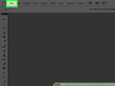 how to change background color on photoshop 4 ways to change the background color in photoshop wikihow