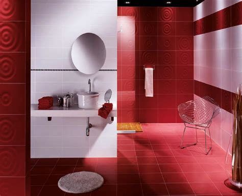 red bathroom decorating ideas room decorating ideas