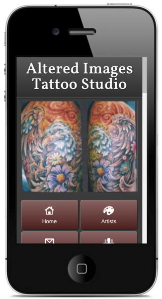 altered images tattoo mobile website of the week altered images studio