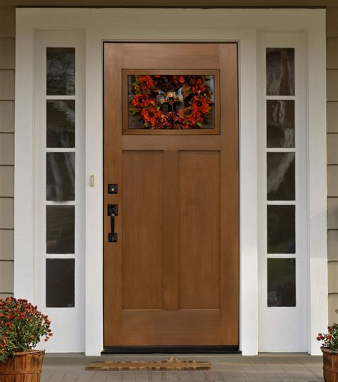 Craftsman Exterior Doors Fir Craftsman Entry Door Mediterranean Front Doors By T D Becker Associates Inc