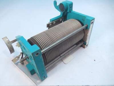roller coil inductor rf power lifier variable roller inductor coil 34 uhy 400 watts ebay