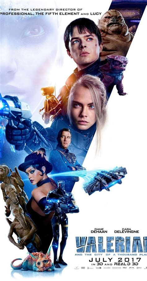 film gratis valerian valerian and the city of a thousand planets 2017 imdb