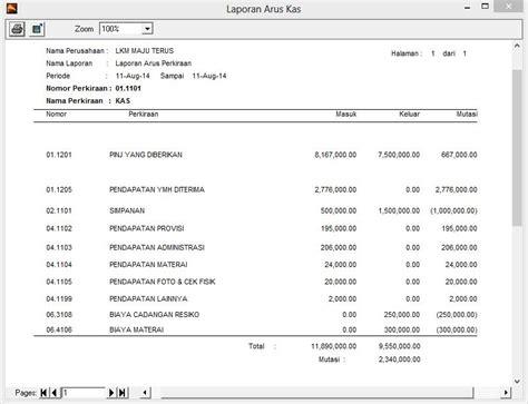 format buku kas koperasi simpan pinjam armadillo software akuntansi dagang dan simpan pinjam read