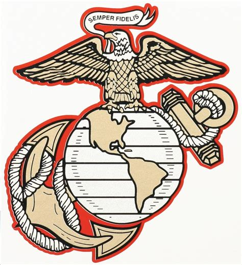 usmc marine corps eagle anchor globe stencil for painting usmc eagle globe and anchor decal north bay listings
