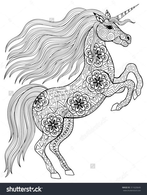 free printable coloring pages for adults unicorns coloring pages appealing unicorn coloring pages for