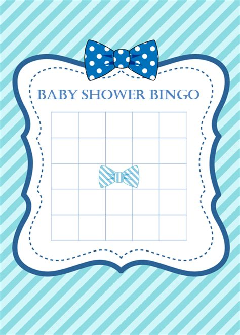 blank baby shower bingo cards template themed baby shower ideas my practical baby