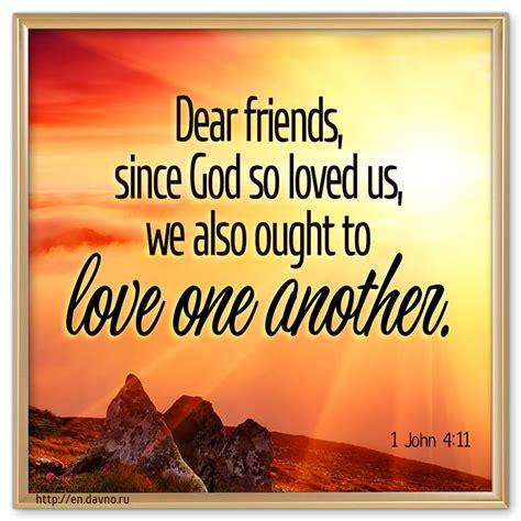 john  dear friends  god  loved      love