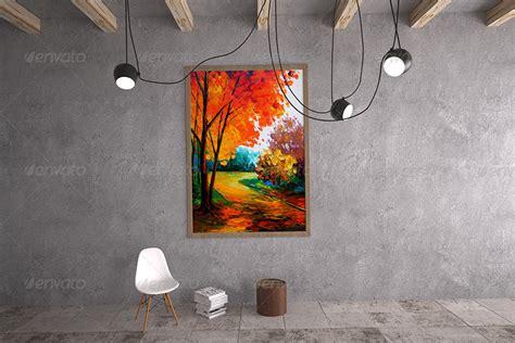 painting gallery mockup  sherlockholmes graphicriver
