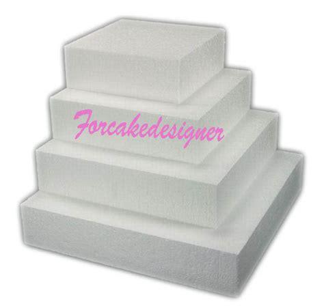 polistirolo alimentare polistirolo per torte 20x20x5h cm