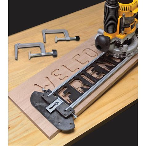 Milescraft Sign Pro Sign Making Jig Set for Routers 12120003   The Home Depot